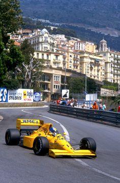 GP de Mônaco, Lotus, Derek Warwick (GBR), 1990.