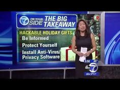 Beware of Hackable Holiday Gifts @IntelSec Home