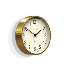 Trouva: Brass Master Edwards Clock