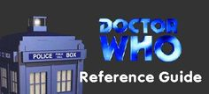 THE best reference guide to Dr. Who episodes, on telly, book, video, audio, forum, etc.