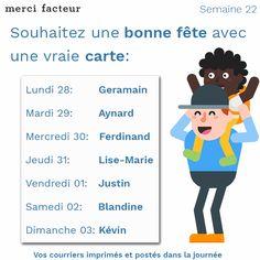 Souhaitez une bonne fête à vos proches avec une vraie #carte >  #bonnefête #Fête #courrier #LaPoste #maman #Saint #printemps #avril #famille #amis #Expat #Handicap #amitié #Lundi #MondayMotivation #Motivation #Paris #France #Bonplan