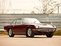 mostly cars, mostly alfas (†|ξ) — archaictires: 1967 Maserati Mexico Speciale by...