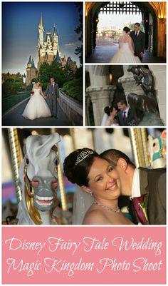 Memories from our Disney Fairy Tale Wedding Magic Kingdom Photo Shoot, Walt Disney World Florida