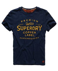 Superdry - T-shirt imprimé Magna - T-shirts pour Homme Casual Shirts 7bee4815d