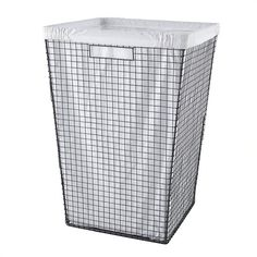 Kids Storage: Wire Clothes Hamper in Hampers and Storage | The Land of Nod