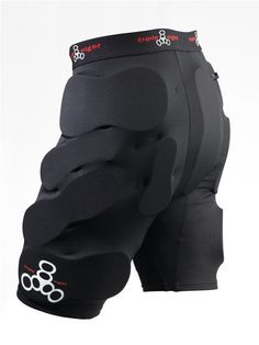 Triple Eight Bumsaver Padded ShortsTriple 8 Bumsavers padded shorts make it easier to jump back up after you land on your bum. Bumsavers are lightweight, low profile, and ready to wear under your regular pants or shorts. Triple 8 Bumsavers  are designed as skateboarding padded shorts, but they work great as snowboarding padded shorts or for any action sport where you're likely to take a tumble.Triple 8 Bumsaver Padded Shorts Features:Lightweight, breathable mesh fabricShock-absorbi