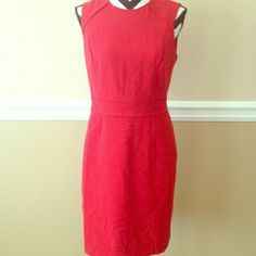 Banana Republic Red Cocktail Dress Size 6