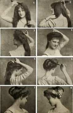 Hair style instruction