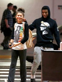 Zendaya with Trevor at LAX in Los Angeles (June 22nd)