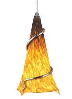 Tech Lighting 700TTOVPAAN-CF Ovation 1 Light Single-Circuit T-TRAK Compact Fluor Satin Nickel Indoor Lighting Track Lighting Pendants