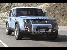 Land Rover Defender Concept100 Sport