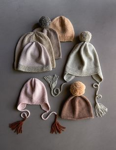 Basic Hats for Everyone in New Colors! Neulottu pipo myssy purlbee purl soho