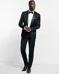 Black tuxedo from @express #holidaystyle #expresslife