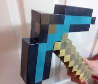Criar o seu livre Minecraft picareta de diamante