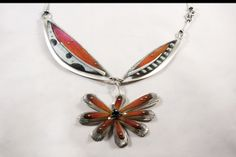 Drawing on Metal by Deb Karash sterling silver and Prismacolor on copper.