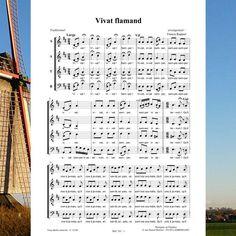 Vivat flamand : une musique traditionnelle du Nord de la France. Joie et convivialité ! Editions Musiques en Flandres - référence MeF 101
