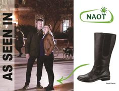 """It's no mystery why Kelli Giddish who plays """"Amanda Rollins"""" in Law & Order: Special Victims Unit is wearing our Viento boot! The clues add up...it's cute and comfortable! #SVU"""