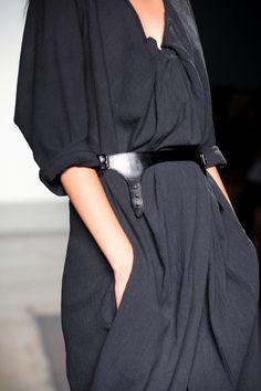 dress and belt