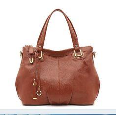 100% Genuine Leather Shoulder Bag Fashion 2015 Women Leather Handbag Cowhide Crossbody Bag Bolsas Women Messenger Bags Hot Tote - HandBagList