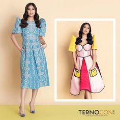 Filipiniana Dress Modern, Fashion Clothes, Fashion Outfits, Womens Fashion, Baro't Saya, Gabbi Garcia, Europe Packing, Costumes For Teens, Batik Dress