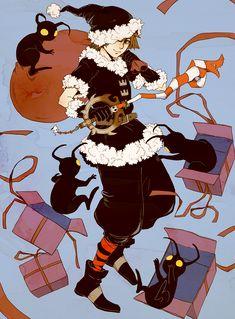 veil of rain Kingdom Hearts Fanart, Sora Kingdom Hearts, Christmas Kingdom, Sora Kh, King Of Hearts, Video Game Art, Disney Art, Final Fantasy, My Images