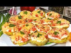 Dovlecei (aperitive) ca la mama! cei mai gustoși dbovlecei The best zucc. Greek Recipes, Veggie Recipes, Appetizer Recipes, Appetizers, Cooking Recipes, Most Delicious Recipe, Latest Recipe, Slow Food, Savoury Dishes