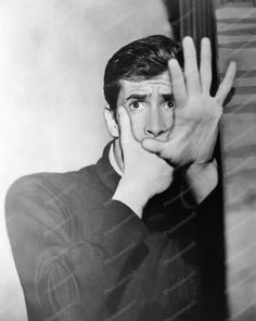 Anthony Perkins Psycho 1960s 8x10 Reprint Of Old Photo