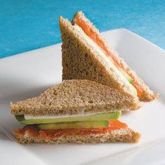 snacks after-school kids children healthy avocado sandwich