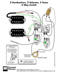 guitar wiring diagram 2 humbuckers 3 way lever switch 2 volumes 1 wiring diagram for 2 humbuckers 2 tone 2 volume 3 way switch i e traditional lp set
