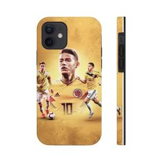 James Rodriguez Colombian National Team Phone Case - iPhone 12