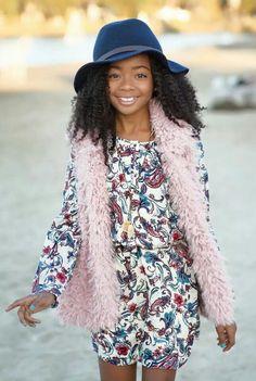 Skai Jackson from Jessie on Disney Channel she plays Zuri Ross  Follow her on Twitter @skaijackson