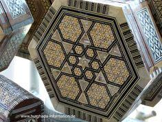 Egyptian mother of pearl mosaic box // Ägyptische Perlmutt-Intarsien-Schatulle