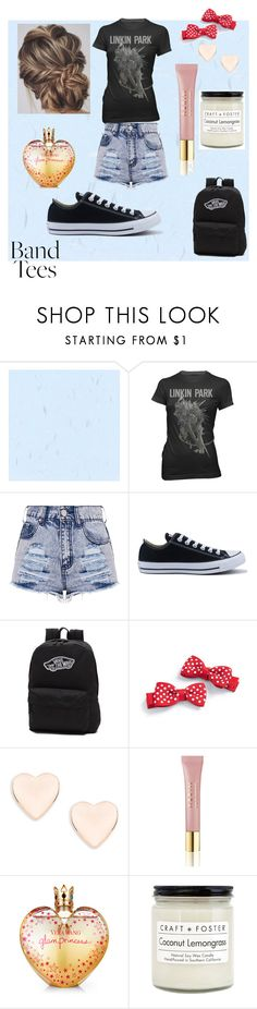 """r.i.p Chester"" by palm0011 ❤ liked on Polyvore featuring Converse, Vans, Ted Baker, AERIN, Vera Wang and Craft + Foster"