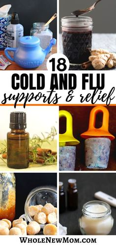 Got the sniffles or flu? Here are Loads of DIY Natural Cold and Flu Remedies to help you keep the bugs at bay and get feeling better fast! Save money and a trip to the store by using what you have in your pantry to get healthier. Cold Home Remedies, Flu Remedies, Holistic Remedies, Natural Home Remedies, Herbal Remedies, Health Remedies, Natural Remedies For Arthritis, Health Vitamins, Herbal Medicine