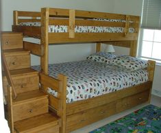 making a lofted bed | General, How to Build Bunk Beds Properly: Bunk Bed With Storage