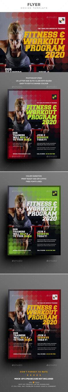 178 best fitness flyer images on pinterest in 2018 fitness flyer