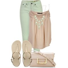 """""""Pastels"""" by addiemoore17 on Polyvore"""
