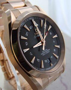 Omega Aqua Terra GMT Watch Review