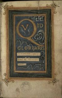 One of the oldest Scottish books remaining in Scotland: a psalter nearly 1,000 years old, The Psalms of King David is in Edinburgh University Library. It was probably produced by monks on Iona who were also associated with the making of The Book of Kells and it is thought that the book was written for someone of major importance, with one possibility being St Margaret who was Queen of Scotland around the time it was produced