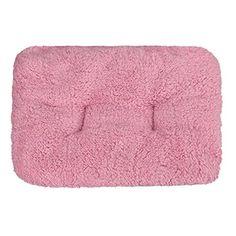 pet mat,Pikolai Dog Blanket Pet Cushion Dog Cat Bed Soft Warm Sleep Mat Beige (Pink)