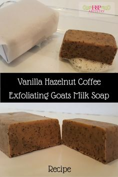 Vanilla Hazelnut Coffee Melt and Pour Soap Recipe from H&P Artistry