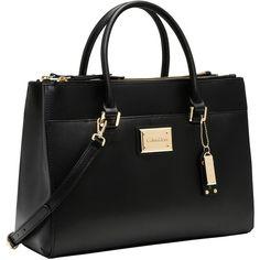 Calvin Klein Claudia Mercury Tote ($275) ❤ liked on Polyvore featuring bags, handbags, tote bags, tote purses, handbag tote, gold tote handbags, gold purse and handbags tote bags