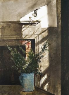 Andrew Wyeth (1917-2009) - Bird in the House