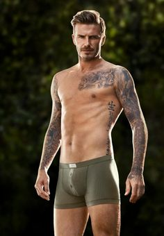 "DAVID BECKHAM has turned ""action hero"" for his latest H&M bodywear campaign, starring in a short video directed by Guy Ritchie. David Beckham Shirtless, David Beckham Body, Hot Men, Hot Guys, Gorgeous Men, Beautiful People, Underwear Pics, Guy Ritchie, Hommes Sexy"