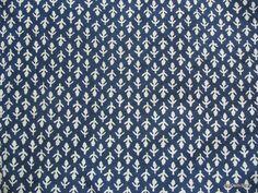 Custom Listing for Half Yard of Leaf Print Blue by theDelhiStore, $6.00