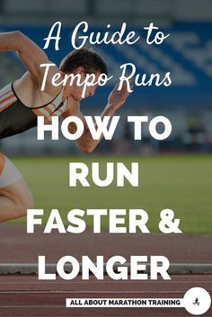 Tempo runs are fun speedworks that will help you to maintain a faster, harder pace for a longer period of time.