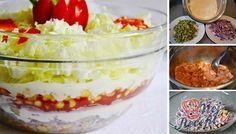 Pokud ho jednou ochutnáte, budete ho chtít znovu a znovu. Healthy Salads, Mashed Potatoes, Food And Drink, Veggies, Low Carb, Cooking Recipes, Pudding, Snacks, Ethnic Recipes