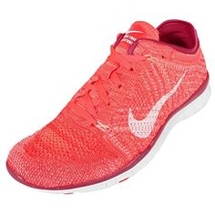 official photos a3969 05e66 Amazon.com   NIKE Womens Free Training Flyknit Running Shoes (9 D(M) US,  Bright Crimson White-PRM RD-Atomic)   Road Running