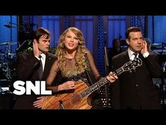 Taylor Swift Monologue: Monologue Song - Saturday Night Live - YouTube