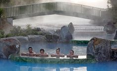 Bathe at the bottom of silica terraces in a series of hot pools that will keep you warm long after you have left the water. Grab up to 53% off entry to the thermal pools or entry to the Wairakei Terraces walkway. The Wairakei silica terraces are the crowing jewel in this mystical place and are forming naturally everyday providing a unique window into how the original pink and white versions once looked, a must see.